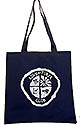 CHOOSE THE OLD OR NEW ADVENTURER CLUB LOGO-  NAVY BLUE TOTEBAG