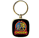 Chosen 2019 - Black / Gold Keychain