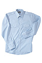 Mens- Long Sleeve Class A Shirt - Lt Blue