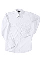 Men - Teen Long Sleeve Class A Shirt - White
