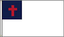 OUTDOOR- CHRISTIAN FLAG 3' x 5'- GROMMETS