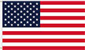 USA FLAG EMBROIDERED -OUTDOOR WITH GROMETS