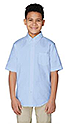 Boys Light Blue Class A Short Sleeve Shirt