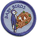 "1-2yr olds-2""Round Baby Bird Uniform Patch-wrightpublications.org program"