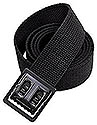 BLACK WEB BELT / CONECTOR BLACK BUCKLE