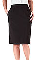 100% Polyester Casual Ladies BLACK OR NAVY Skirt