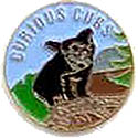 Curious Cub Uniform Pin