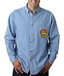 Short or Long sleeve UNISEX Denim Shirts