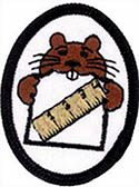 5YR OLDS CLASS - FL. CONF. EAGER BEAVER CHIPS HONORS - 11 PATCH SET - 1 OPTIONAL