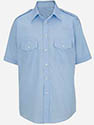 Men - Teen Short Sleeve Class A Shirt -  TAN or LT.Blue