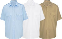 MENS & TeenBoys-Class A  Short Sleeve Shirt - Tan, WH, LB ( American made )
