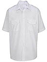 White Men's  Class A Short sleeve Shirt