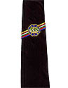 PF BLACK MG EMBROIDERED TIE