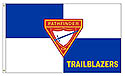 PF CUSTOM CLUB NAME ON FLAGS -OUTDOOR GROMMET FLAG